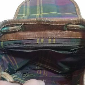Hidesign Bags - Vtg Hidesign Brown Leather Backpack Bag